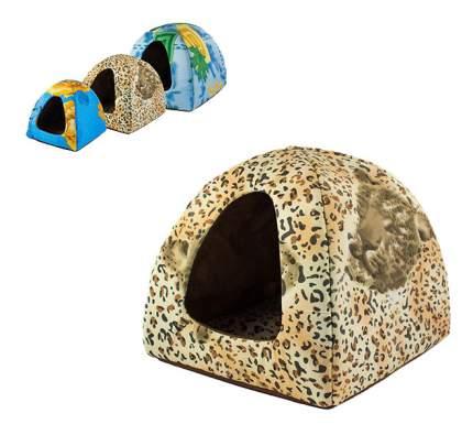 Домик для кошек ДАРЭЛЛ вигвам M 38х38х35 см поликоттон, поролон