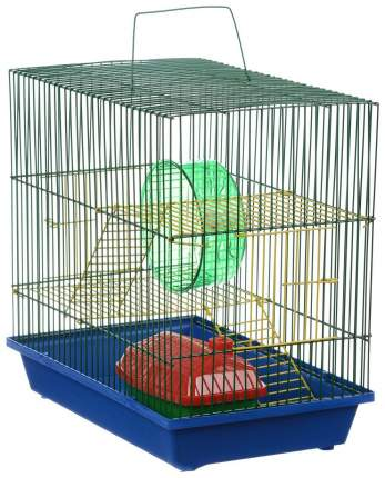 Клетка для крыс, морских свинок, мышей, хомяков ZooMark 38х24х36см
