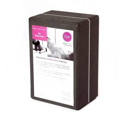 Кирпич для йоги RamaYoga из EVA-пены Yoga brick Supersize 510604