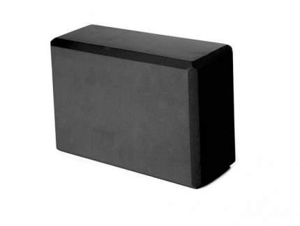 Кирпич для йоги RamaYoga из EVA-пены 8 x 15 x 23 см, черный 520416