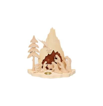 Sigro Подсвечник «Святое Рождество» 26*9*23 см, 1 свеча 730025