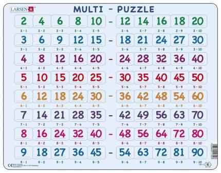 Пазлы Larsen обучающий Математика Умножение 80 элементов AR17