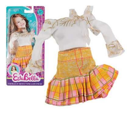 Летняя одежда для куклы EstaBella Блузка, юбка