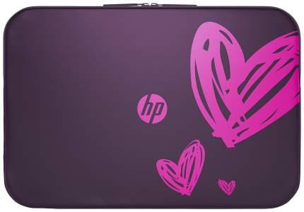 """Чехол для ноутбука 15.6"""" HP 1AT98AA розовый/фиолетовый"""