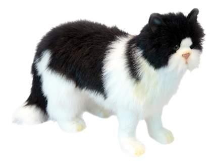 Мягкая игрушка Hansa Кот Кот Черный 46 см белый Черный Синтепон Пластик 6485