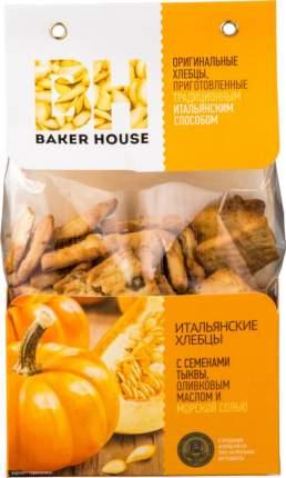 Хлебцы Baker House с семенами тыквы оливковым маслом и морской солью 250 г