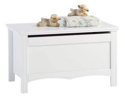 Ящик для игрушек Sonia без колёс белый Erbesi
