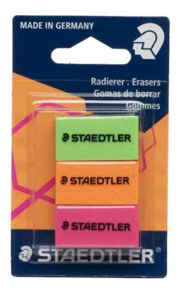 Набор цветных ластиков 526 серии 3 шт Staedtler