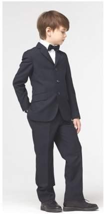 Школьный костюм Silver spoon пиджак и брюки синий базовый р.158