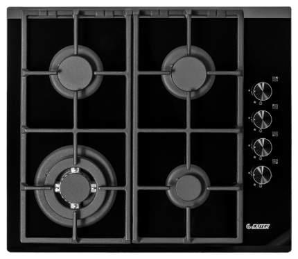 Встраиваемая варочная панель газовая Exiteq PL 640 STG-E/A Black