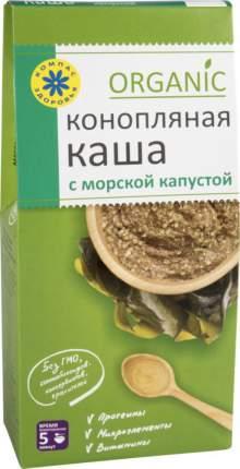 Каша конопляная Компас здоровья organic с морской капустой 250 г