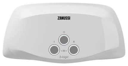 Водонагреватель проточный Zanussi 3-logic 3.5 TS (душ+кран) white