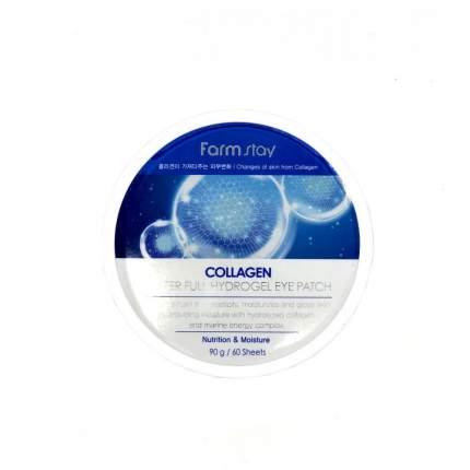 Патчи для глаз Farm Stay Collagen Water Full Hydrogel Eye Patch 90 г