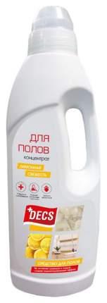 Чистящее средство для мытья полов Decs лимонная свежесть 1 л