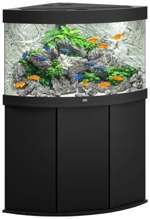 Аквариум для рыб Juwel Trigon 190 LED, с изогнутым стеклом, черный, 190 л