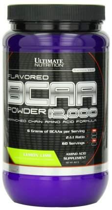 Ultimate Nutrition BCAA 12000 228 г лимон/лайм