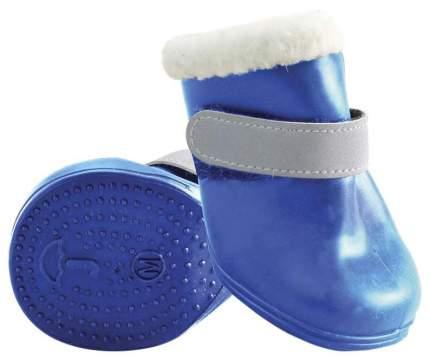 Обувь для собак Triol размер XS, 4 шт синий