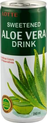 Напиток безалкогольный алоэ вера Lotte негазированный 240 мл