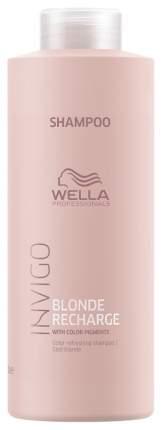 Шампунь Wella Professionals INVIGO Blonde Recharge 1 л