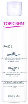 Очищающий гель Topicrem PV/DS Cleansing Gel 200 мл