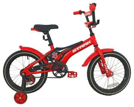 Велосипед двухколесный Stark Tanuki 16 Boy 2019 Красный/Черный/Белый