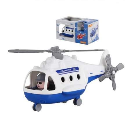 Вертолет Полесье альфа синий 68675