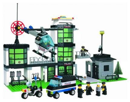 Конструктор пластиковый Brick полицейский участок 430 деталей 110