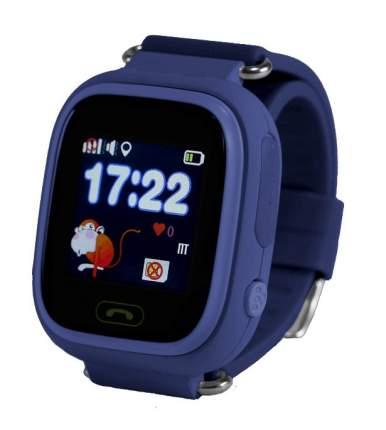 Детские смарт-часы Smart Baby Watch Q80 с GPS трекером Dark Blue/Blue