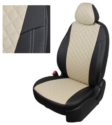 Комплект чехлов на сиденья Автопилот Nissan, Renault re-dt-d11-chebe-r