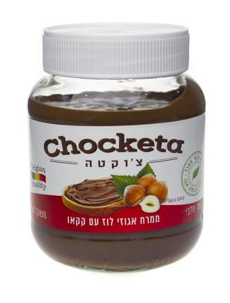 Шоколадно-ореховая паста Choketa с фундуком 350 г