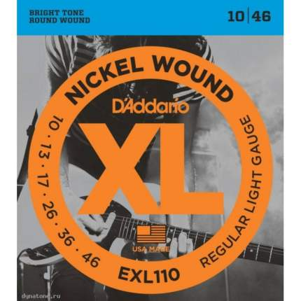 Струны для электрогитары D ADDARIO EXL110