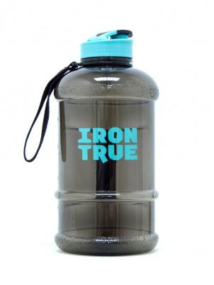 IRONTRUE Бутылка ( ITB941) 1300ml, Черный-Бирюзовый-Черный