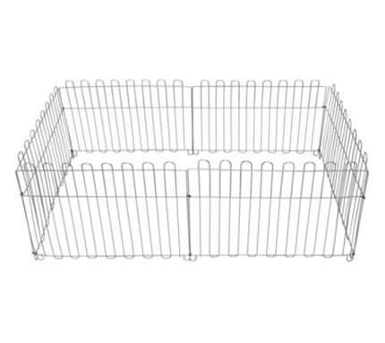 Вольер оцинкованный Dog Land, размер секции 60х55 см, 6 секций