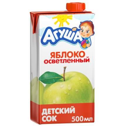Сок Агуша Яблоко осветленное с 3 лет 500 мл