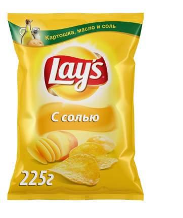 Картофельные чипсы Lay's с солью 225 г