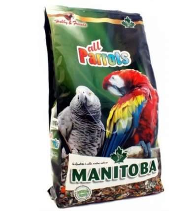 Корм для птиц Manitoba, зерновой, для крупных попугаев, 2 кг