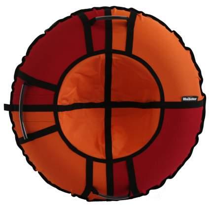 Тюбинг Hubster Хайп красный-оранжевый 110 см