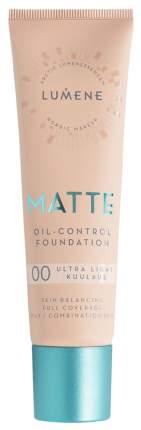 Тональный крем Lumene Matte Oil-control Foundation 00 Ultra Light 30 мл