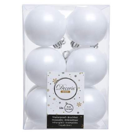 Набор шаров на ель Новый год 6 см 021844m 12 шт