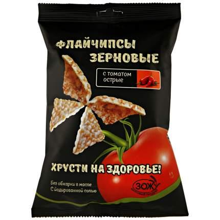 Флайчипсы зерновые с томатом острые 40 г
