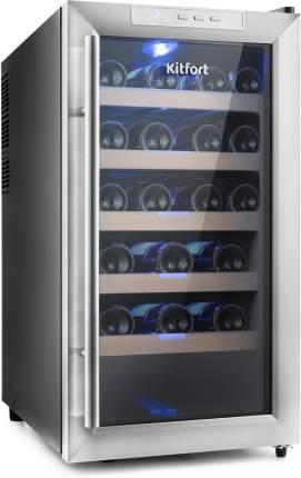 Винный шкаф Kitfort KT-2409 Silver