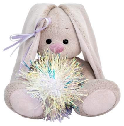 Мягкая игрушка Budi Basa Зайка Ми с новогодней подвеской 15 см