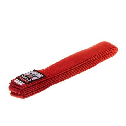 Пояс для каратэ БоецЪ BCU-75 красный, 240 см