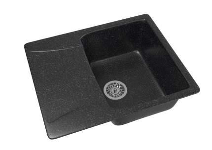 Мойка для кухни мраморная MIXLINE ML-GM26 черная