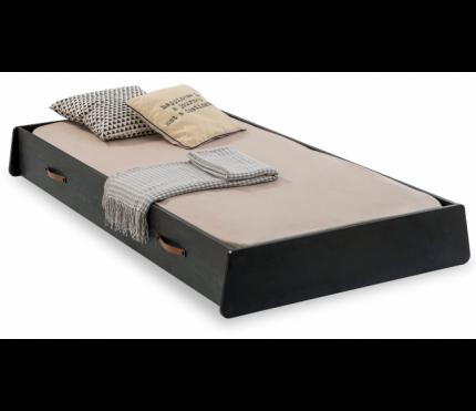 Кровать выдвижная Cilek Dark Metal 100х190 см, черный