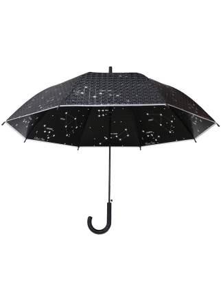 Зонт-трость МихиМихи Созвездия с 3D эффектом черный