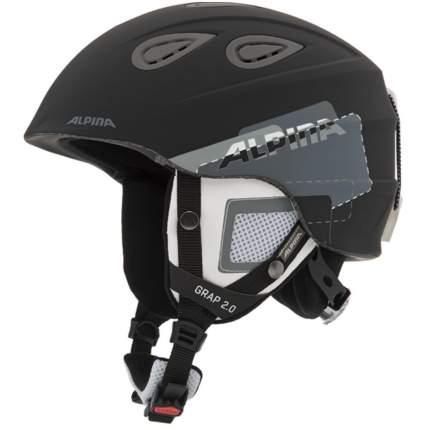 Горнолыжный шлем Alpina Grap 2.0 2019, черный/серый, L