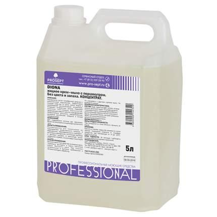 Жидкое крем-мыло PROSEPT Diona Без цвета, без запаха с перламутром  5л