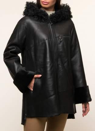 Дубленка женская Каляев K5832 черная 44 RU