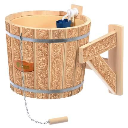 Обливное устройство Русский душ Банные штучки, липа, 16 л